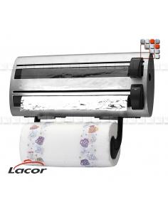 Distributeur de Rouleaux Cuisine Inox LACOR L10-60702 LACOR® Ustensiles de Cuisine