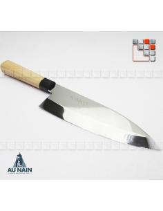 Couteau Chef japonais Deba KINKO (Gaucher ou droitier) A38-1290204 AU NAIN® Coutellerie Couteaux & Découpe