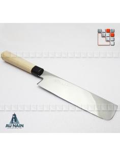 Knife japanese Chef Nakiri KINKO's A38-1291004 AU NAIN® Coutellerie cutting