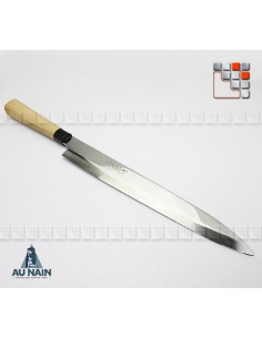 Chef's knife japanese Yanagiba KINKO's (left-Handed or right-handed) A38-1290604 AU NAIN® Coutellerie cutting