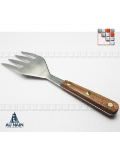 Serving Fork 4 Prongs Rosewood 28 AU NAIN A38-1320801 AU NAIN® Coutellerie Couverts de Service