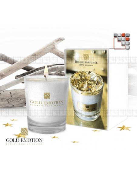Gold 24K Scented Candle GoldEmotion G03-ORB GoldEmotion pleased to offer