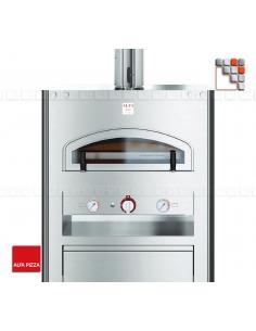 Oven QUBO 90 Stainless steel ALFAPIZZA A32-FXQB90 ALFA FORNI® Mobil Oven ALFA FORNI