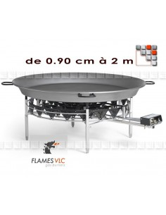 Windshield Burner Giant Paella Flames G05-X09 FLAMES VLC® Burner Gas Flames VLC