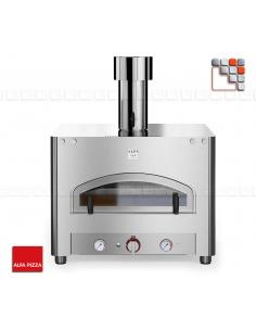 Oven QUBO 70 Stainless steel ALFAPIZZA A32-FXQB70 ALFA FORNI® Mobil Oven ALFA FORNI