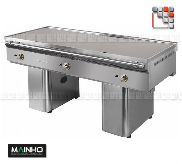 Teppanyaki FL-150/7 TY UNISNACK MAINHO M04-FL150/7TY MAINHO® Fry-Top Teppanyaki 70 UNICROM UNISNACK