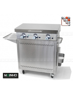 Pack Plancha NCR-80TB MAINHO M04-CNE80NCR80TB A la Plancha® Plancha Premium NOVOCROM NOVOSNACK