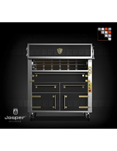 Charcoal Roaster ASJ-130 XL Josper J48-ASJ-130 JOSPER Grill Charcoal Oven & Rotisserie JOSPER