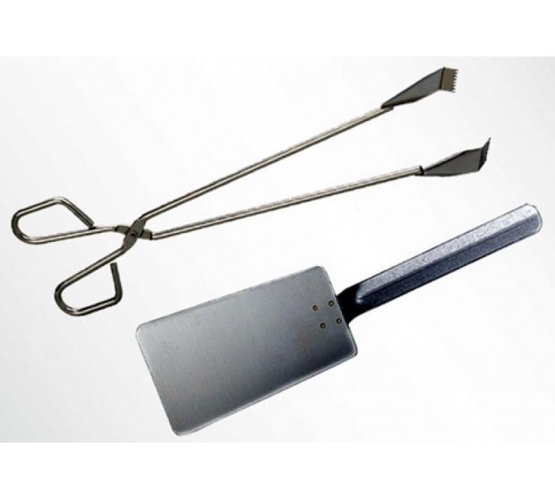 Set Utensils Stainless steel MAINHO 504MHEPZ1 MAINHO® Special kitchen utensils Plancha