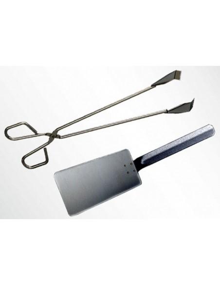 Set Stainless steel Ustensils MAINHO M36-504MHEPZ1 MAINHO® Special Plancha Ustensils