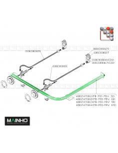 Tube Alimentation Robinet de Gaz MAINHO M36-3007 MAINHO SAV - Accessoires Pièces détachées MAINHO