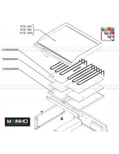 Resistance FC E MAINHO Complete Box M36-03302000002T MAINHO SAV - Accessoires Electrical parts MAINHO