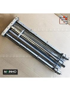 Stainless Steel Ramp Gas PSI MAINHO M36-1016000021 MAINHO SAV - Accessoires MAINHO Spares Parts Gas