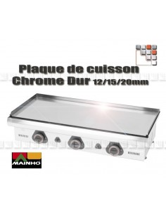 Plaque de Plancha Chrome Serie ECO