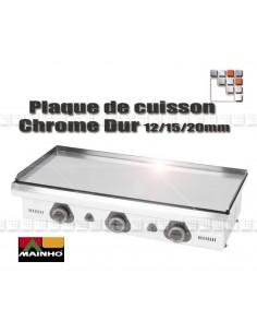 Plaque de Plancha Chrome Serie ECO
