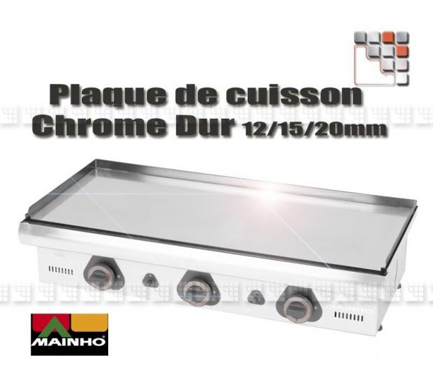 Plate Griddle Hard Chrome ECO 109MH0200132 MAINHO SAV - Accessoires Mainho Spares