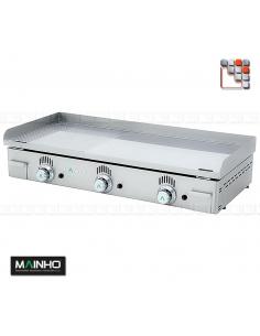 Plancha NCR-100 Novo Crom Rainuree MAINHO M04-NCR100 MAINHO® Plancha Premium NOVOCROM NOVOSNACK