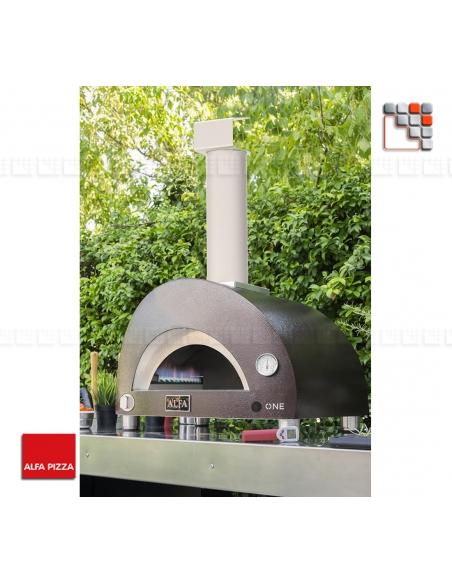 Four Pizza ONE Bois Alfa Forni A32-FXONE-LRAM ALFA PIZZA® Fours mobiles ALFA PIZZA