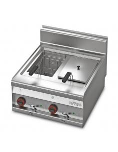 Friteuse FQ-6ET 10+10L FR-65 LOTUS L23-FQ6ET LOTUS® Food Catering Equipment Friteuse Wok Four Vapeur