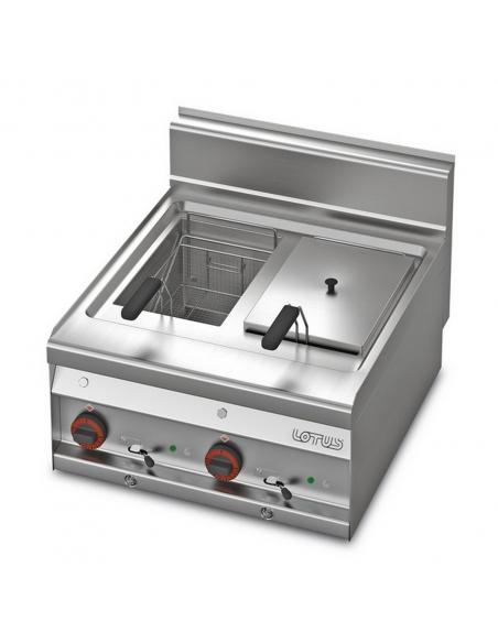 Fryer FQ-6ET 10+10L FR-65 LOTUS L23-FQ6ET LOTUS® Food Catering Equipment Fryers Wok Steam-Oven