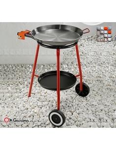 Set Paella Andreu 46D Polished Steel Garcima G05-K42005 GARCIMA® LaIdeal Kit dish Paella Garcima