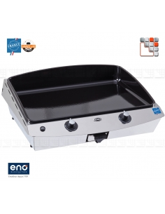Plancha Riviera 60 Gas Eno E07-530232010701 ENO®  Plancha and cart Eno
