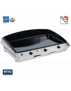 Plancha Riviera 75 Gas Eno E07-530332010701 ENO®  Plancha and cart Eno