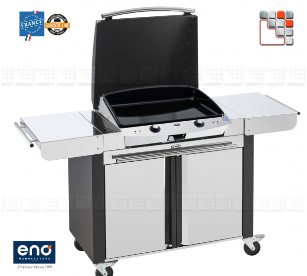 Trolley Plancha Combo EleKtra 60 Eno E07-TC60E ENO®  Plancha and cart Eno