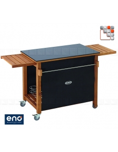 HPL trolley EMILE ENO E07-DPN53 ENO®  Plancha and cart Eno