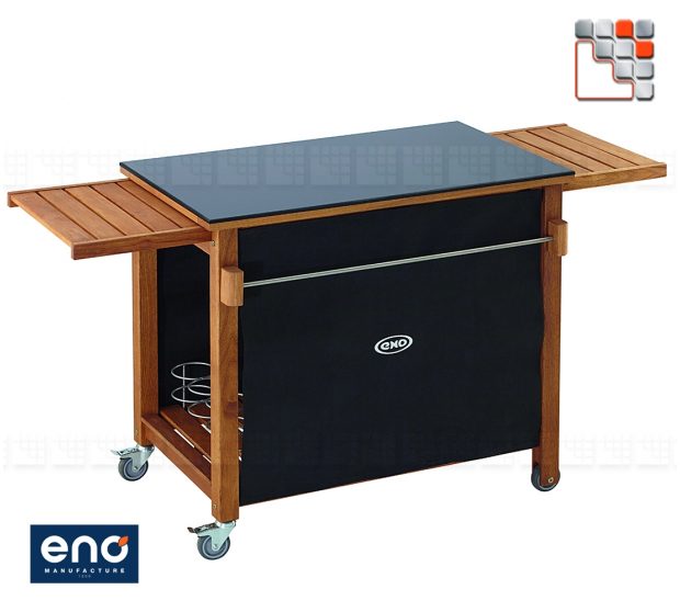 SERVICE PLANCHA BLACK EMILE ENO E07-DPN53 ENO®  Plancha and cart Eno