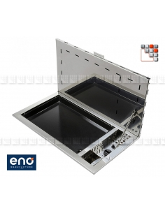 Plancha Antigua Built-in Eno E07-EN90  Plancha and cart Eno