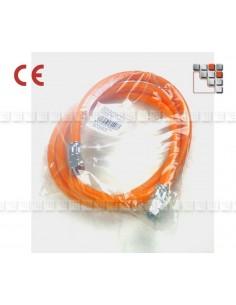 Flexible Gaz 1.5 Normes Allemagne + Suisse 602AGCMR1  Accessoires Gaz