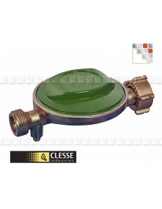 Regulator Butane 28 mbar 1.3 kg/h C06-NI1001 Clesse industries¨ Gas accessories