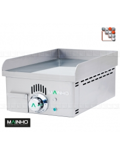 Plancha NCEM-40 Novo-Crom 230V MAINHO M04-NCEM40 MAINHO® Plancha Premium NOVOCROM NOVOSNACK