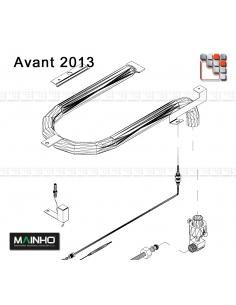 Rampe de Bruleur Gaz Plancha MAINHO M36-2062 MAINHO SAV - Accessoires Pièces détachées MAINHO