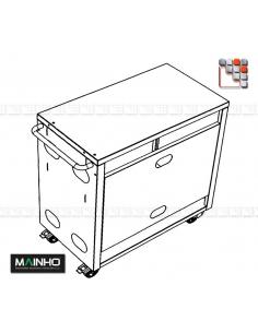 Elements du Chariot CNE-80 MAINHO M36-CNE80X MAINHO SAV - Accessoires Pièces détachées MAINHO