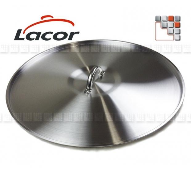 Couvercle AL CHEF Poignee Inox L10-209 LACOR® Ustensiles Paella Garcima