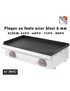 Blueing Cooking Plate Plancha ECOEM Mainho M36-ZPL256 MAINHO SAV - Accessoires Electrical parts MAINHO