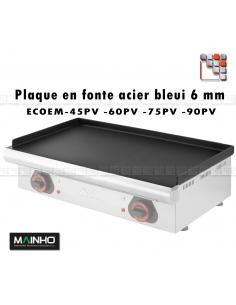 Plaque de Plancha serie ECOEM MAINHO M36-ZPL256 MAINHO SAV - Accessoires Pièces détachées Electrique MAINHO