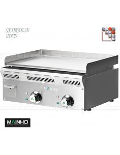Plancha ELP-62EMCN Eco-Line 230/400 MAINHO M04-ELP62EMCN MAINHO® Gamme ECO-LINE pour Cuisine Compacte ou Food-Truck
