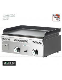 Plancha ELP-62GN Eco-Line MAINHO M04-ELP62GN MAINHO® Gamme ECO-LINE pour Cuisine Compacte ou Food-Truck