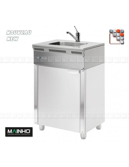 Stainless Steel Sink ELFR Eco-Line Mainho M04-ELFR MAINHO® ECO-LINE MAINHO Food Truck