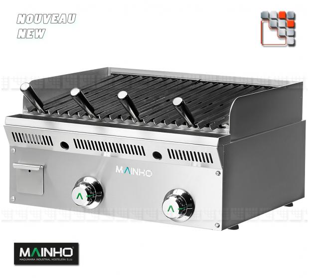 Grill ELB -62GN Eco-Line Barbecue MAINHO M04-ELB62GN MAINHO® ECO-LINE MAINHO Food Truck