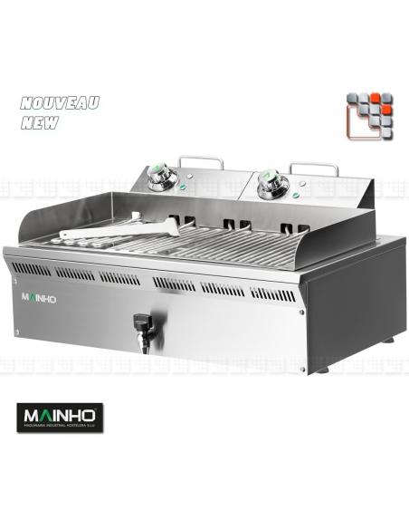 Grill Electric ELB-EM 230V Eco-Line Mainho M04-ELB41EM MAINHO® ECO-LINE MAINHO Food Truck