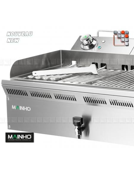 Grill Electrique ELB-41EM 230V Eco-Line MAINHO M04-ELB41EM MAINHO® Gamme ECO-LINE pour Cuisine Compacte ou Food-Truck