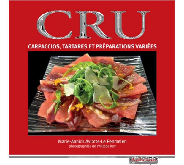 Recipe book Raw - Editions Auberon A17-ED12 A la Plancha® Editions and Publications
