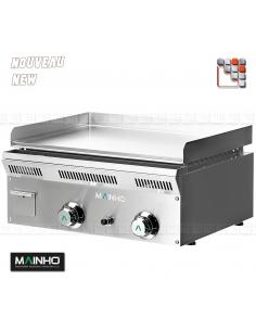 Plancha ELP-62GCN Eco-Line MAINHO M04-ELP62GCN MAINHO® Gamme ECO-LINE pour Cuisine Compacte ou Food-Truck