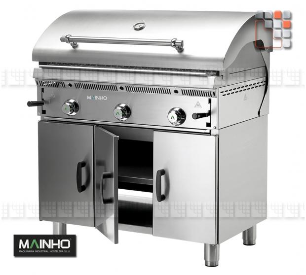 Parrillas PBI-90 Bras-Grill 55 Mainho M04-PB/PBI90 MAINHO® Royal Nova Bras Grill Parillas
