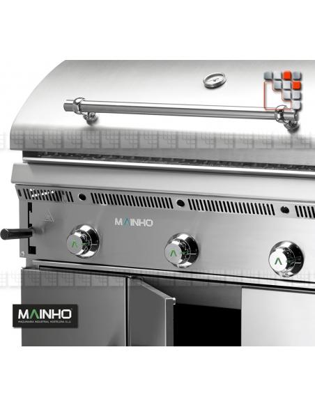 Parrillas PB I-120 Bras-Grill 55 MAINHO M04-PB/PBI120 MAINHO® Royal Nova Bras Grill Parillas