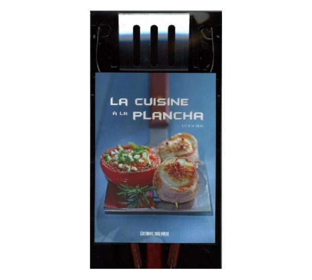 Cabinet Recipe Book and Utensils A17-ED10 A la Plancha® Editions and Publications